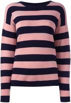 Chinti and Parker cashmere striped jumper