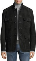 Tom Ford Nubuck Suede Four-Pocket Safari Jacket