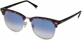 Ray-Ban RB3016F Clubmaster Square Asian Fit Sunglasses