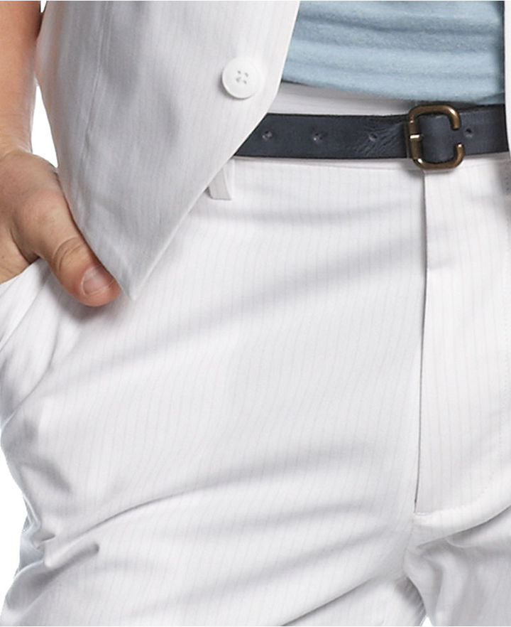 Kenneth Cole Reaction Pants, Stripe Besum Pants