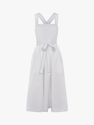 French Connection Enisa Midi Sundress, Summer White
