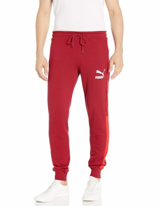 Puma Men's T7 Track Pants All Over Print French Terry