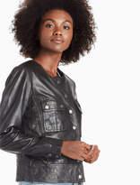 Lucky Brand Collarless Jacket