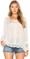 Spell & The Gypsy Collective Sunday Feels Blouse in White. - size XS (also in )