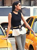New York & Co. 7th Avenue Peplum Top