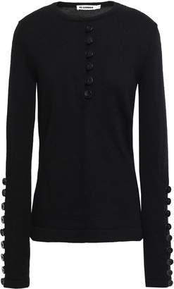Jil Sander Button-detailed Wool Sweater