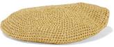 Gucci Thelma Metallic Crochet-knit Beret - Gold