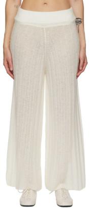 RUS Off-White Alpaca Shoji Lounge Pants