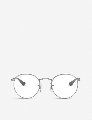 Ray-Ban RX3447V metal round-frame glasses