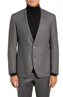 HUGO BOSS Raye Extra Trim Fit Wool Blend Sport Coat