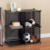 """Organize It All OIA Perforated Cube 30.25"""" Shelving Unit"""