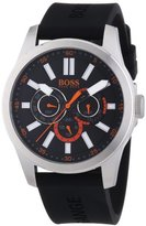 HUGO BOSS BOSS Orange 1512933 Mens Black H-7000 Chronograph Watch