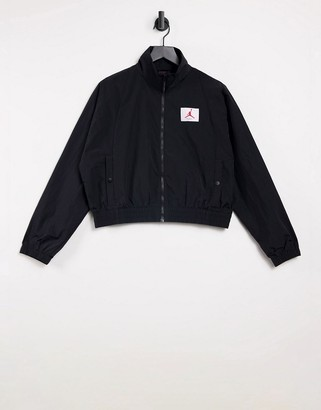 Jordan bomber jacket in black