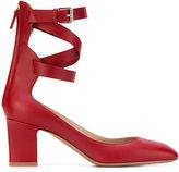 Valentino Garavani Valentino ankle strap pumps - women - Leather - 38.5