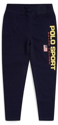 Ralph Lauren Kids Polo Sport Logo Sweatpants