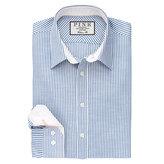 Thomas Pink Hammond Stripe Classic Fit Button Cuff Shirt