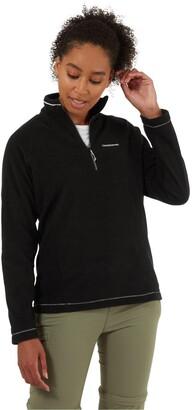 Craghoppers Miska Half Zip Fleece Top - Black