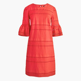 J.Crew Flutter-sleeve shift dress in eyelet