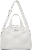 Maison Margiela White Glam Slam Top Handle Bag