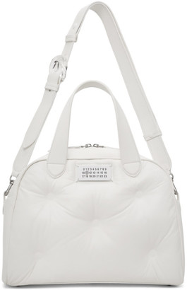 Maison Margiela White Glam Slam Top Handle Bag