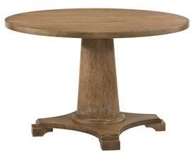 "August Grove Cira Yotam 48"" Pedestal Dining Table"