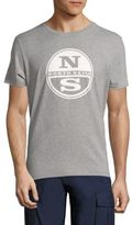 North Sails Slim-Fit Logo Embossed Cotton Tee