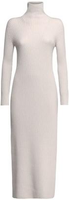 Max Mara 'S Altea Virgin Wool Knit Midi Dress
