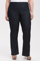 NYDJ Plus Size Women's 'Barbara' Stretch Bootcut Jeans