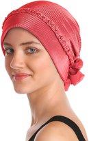 Deresina Headwear Braided & Pearl Detail Headwear for Hair Loss   Full Headcover