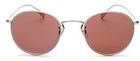 Oliver Peoples Unisex Coleridge Round Sunglasses, 50mm