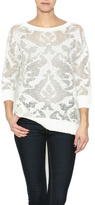 VIP Ivory Layering Sweater