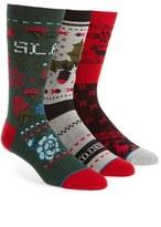 Stance 3-Pack Christmas Sweater Socks