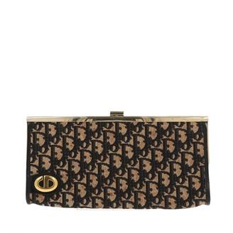 Christian Dior Black Denim - Jeans Clutch bags