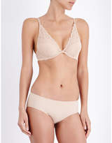 Calvin Klein Seductive comfort lace plunge bra