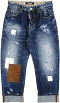 DSQUARED2 Denim pants - Item 42457114