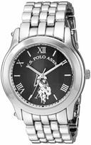 U.S. Polo Assn. Women's Analog Quartz Watch with Alloy Strap