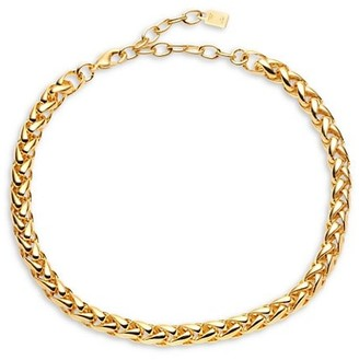Dannijo Janis 10K Goldplated Chain-Link Necklace