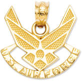 Macy's 14k Gold Charm, U.S. Air Force Charm