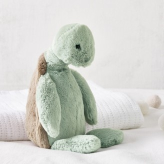 The White Company Jellycat Turtle Medium Toy, Grey, One Size