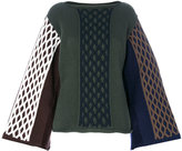 J.W.Anderson cable knit jumper - women - Cotton/Polyamide/Virgin Wool - XS