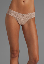 Only Hearts Low Rise Thong