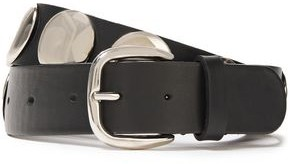 Alberta Ferretti Studded Leather Belt