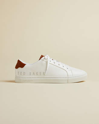 Ted Baker JERRII Perforated branded leather sneakers