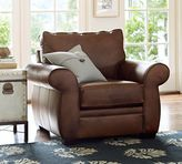 Pottery Barn Pearce Leather Armchair