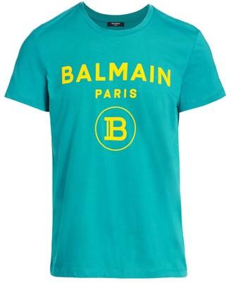 Balmain Graphic Logo T-Shirt