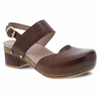 Dansko Women's Malin Tan Sandal 11.5-12 M US