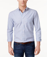 Club Room Men's Striped Button-Down Shirt, Only at Macy's