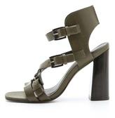 Rebecca Minkoff Pip Wood Heel Sandals