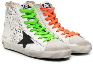 Golden Goose Kids Francy high-top sneakers