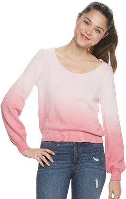 Candies Juniors' Candie's Ombre Pullover Sweater